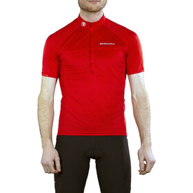 Endura Xtract II Maillot de cyclisme à manches courtes Homme, red